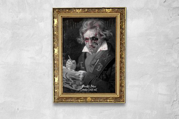 Jase34 - Dead Rockstars - Beethoven Print