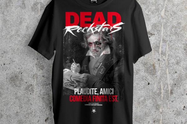 Jase34 - Dead Rockstars - Beethoven Shirt