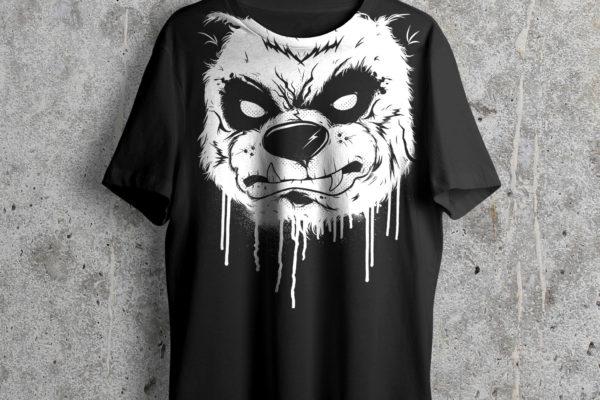 Jase34 - Urban Monks - Black Metal Shirt