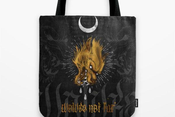 Jase34 - Wolves Not Far - Bag