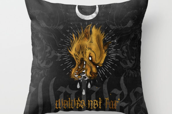 Jase34 - Wolves Not Far - Pillows