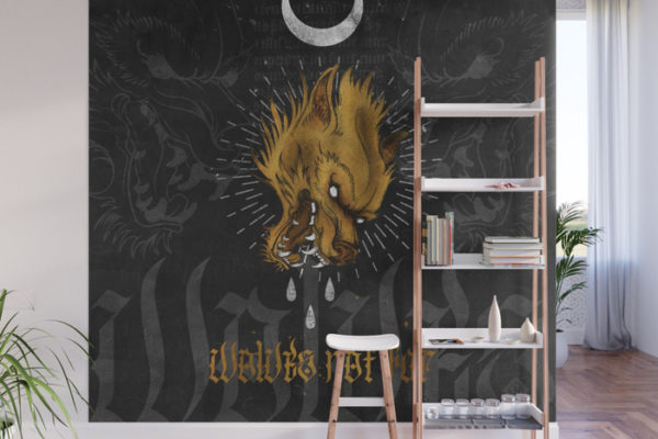 Jase34 - Wolves Not Far - Wallart
