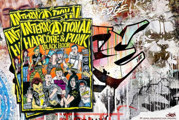 Jase34 x Urban Styles / International Hardcore & Punk Blackbook / SAFE
