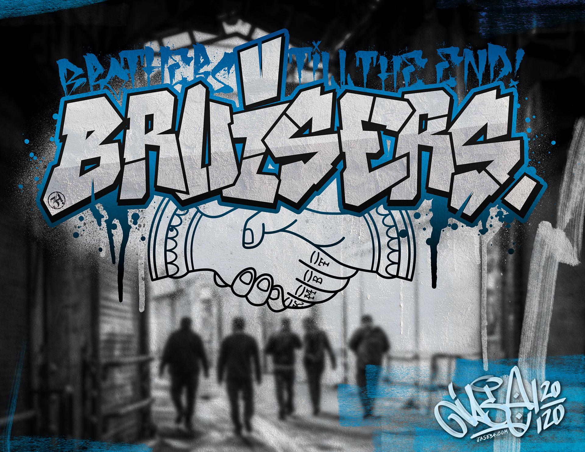 Jase34 x Urban Styles / The Oi Blackbook 2021 / THE BRUISERS