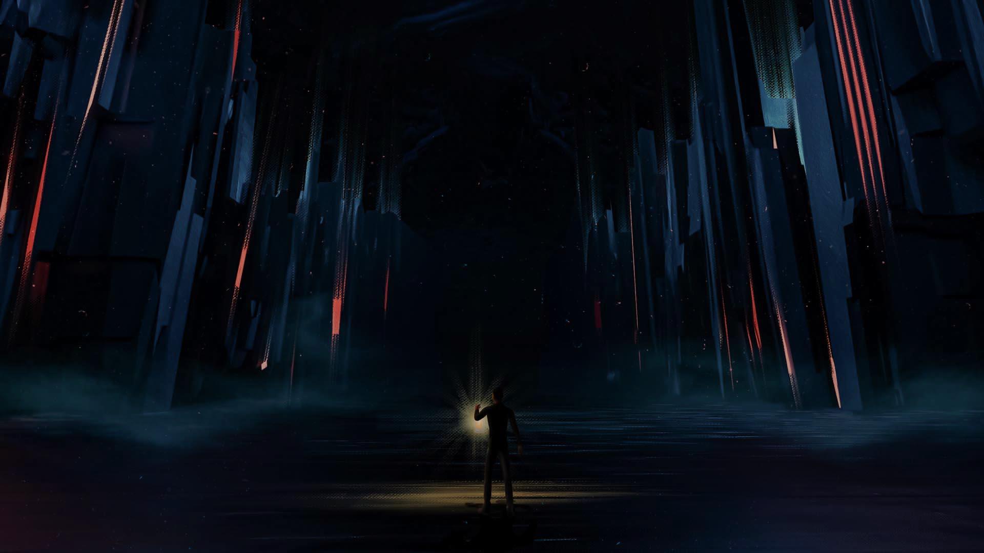 Entering a Dark World